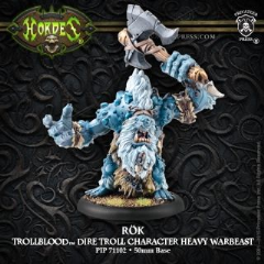 Trollblood ROK Heavy Warbeast Character RESCULPT inc resin